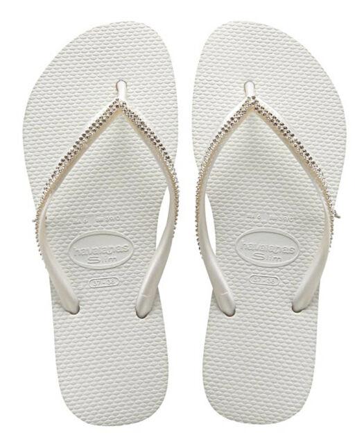 Havaianas Slim Crystal Mesh Flip Flops ZsEd6Tjbs
