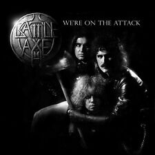 BATTLE AXE - We're on the Attack (NEW*LIM.500*US METAL 1985*MALICE*SHOK PARIS)