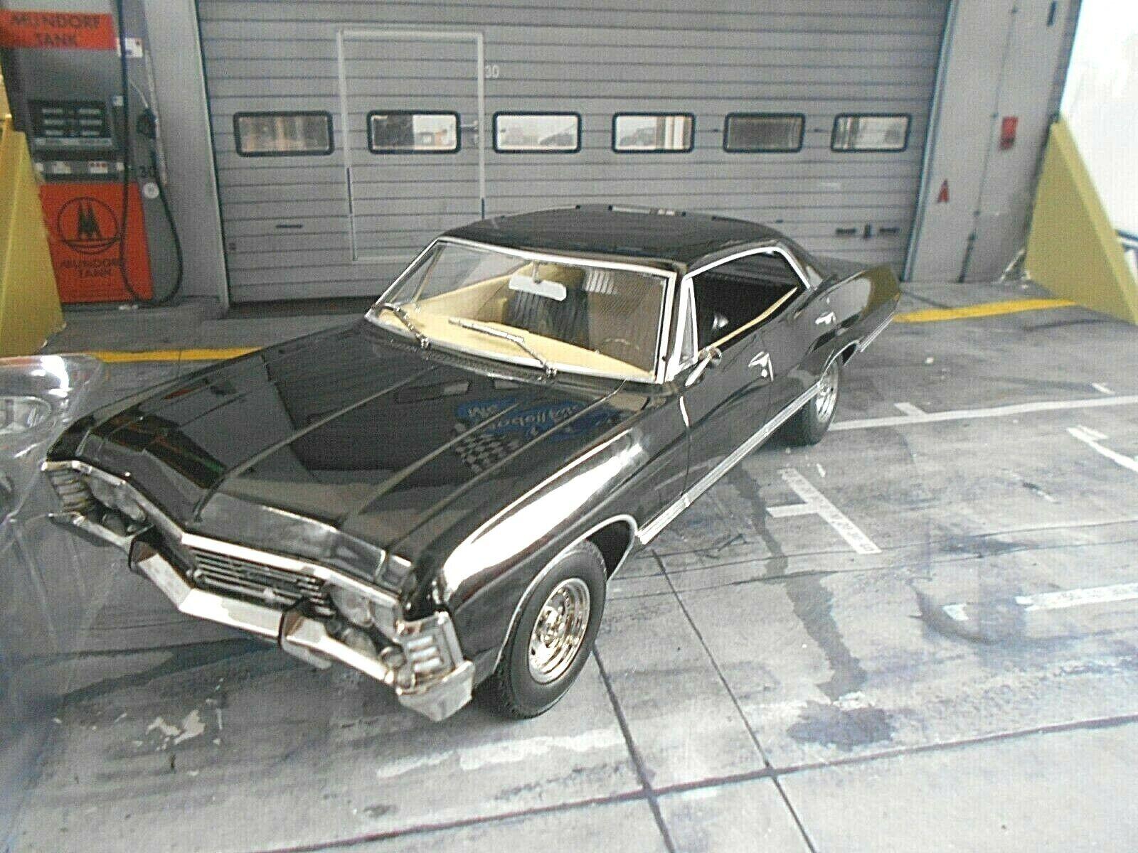 CHEVROLET Impala Sport Sedan Supernatural TV Serie Filmauto F Grünlight 1 18  | Sehr gute Qualität