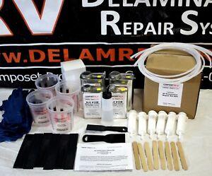 Details about RV, Motorhome, Trailer, Fiberglas Wall Panel, Siding, Skin  Delamination Repair