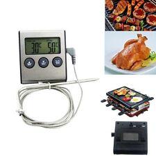 Termometro Digital Con Sonda Metal De Cocina Para Comida Temperatura Alta 250°C