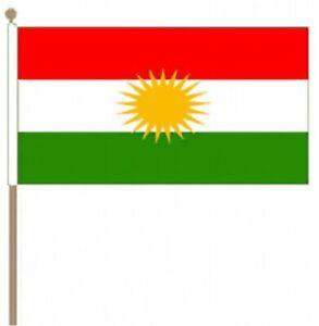 Kurdistan-12-034-x-18-034-Large-Hand-Waving-Flag