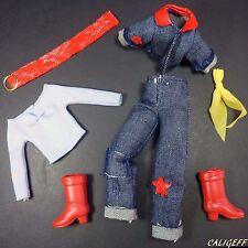 Vintage Action Team - Complete Super Sandy Outfit - Super Peggy 1975 GI Joe