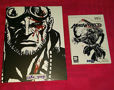 MADWORLD NEUF NINTENDO WII VERSION 100% FRANCAISE + GUIDE OFFICIEL