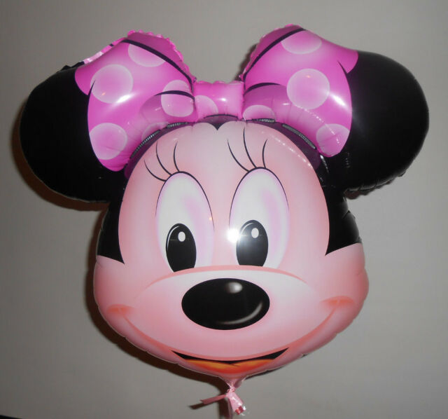 Minnie Mouse Helium Foil Balloon BIG 68cm X 65cm kids Party Birthday GIFT DISNEY