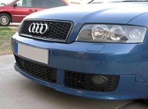 Bastidor-de-la-linea-de-deporte-para-Audi-A4-B6-Parachoques-Delantero-Aleron-Divisor-Delantal-de