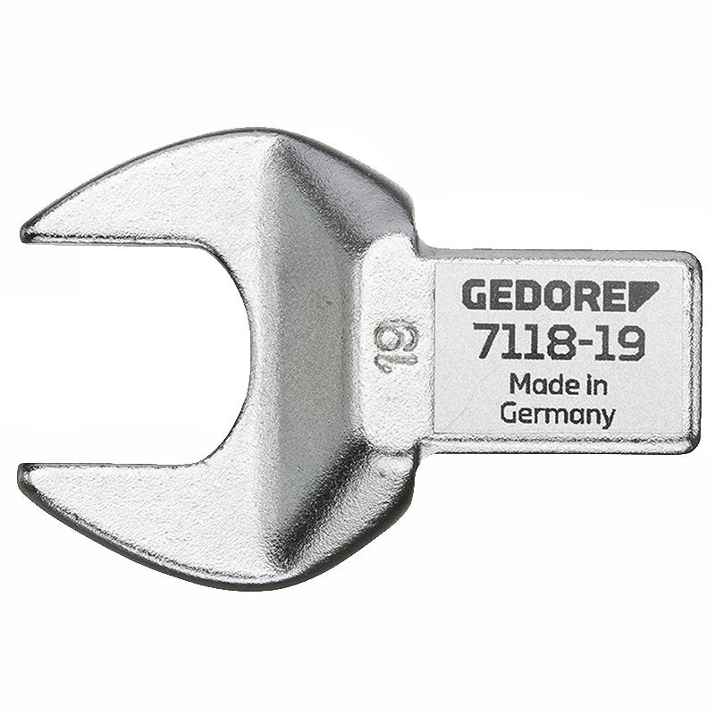 Gedore 2212285 7118-29 Rectangular open end fitting SE 14x18, 29 mm
