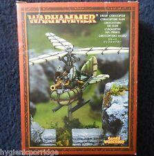 2002 Dwarf Gyrocopter Steam Powered Flying War Machine Games Workshop Engine MIB