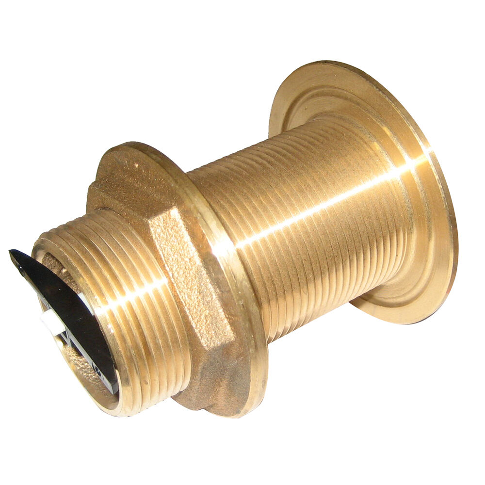 Perko 1-1 2  Thru-Hull Fitting w Pipe Thread Bronze MADE IN THE USA