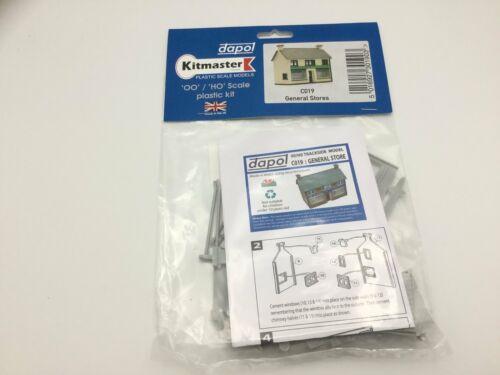 Dapol C019 OO Gauge General Stores Plastic Kit