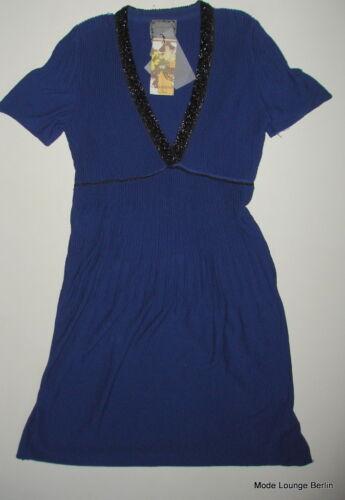 Tricoté 36 Noa Icon Gallerie Nouveaux S Coton Bleu Robe awqgEAw4