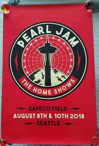 PEARL-JAM-The-Home-Shows-2018-SEATTLE-PROMO-POSTER-RARE