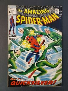 AMAZING-SPIDER-MAN-71-6-0-FN-UNPRESSED-MARVEL-SILVER-COMIC