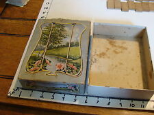 vintage Art Noveau box, for Candy or cards, no name, as found