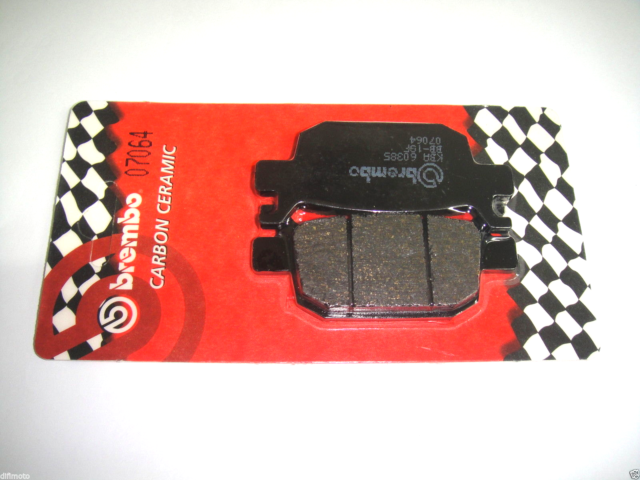 Brake Pads BREMBO 07064 Rear Honda Nss Jazz 250 2011 2012 2013