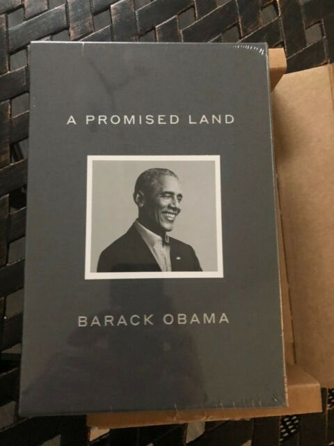 """PRESIDENT BARACK OBAMA SIGNED 'A PROMISED LAND"""" DELUXE EDITION AUTOGRAPHED BOOK"""