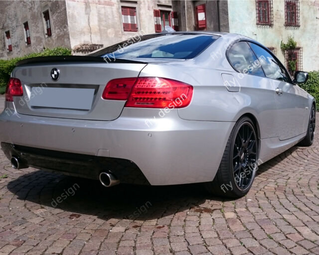 For Bmw E92 Coupe Performance Style Rear Lip From Abs Optical Effect