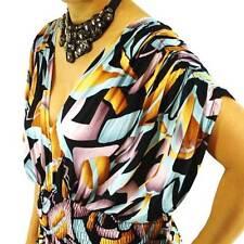 NWT Big Plus L XL 2X NEW Women Batwing Sleeves VNeck Kaftan Sexy Maxi Full Dress
