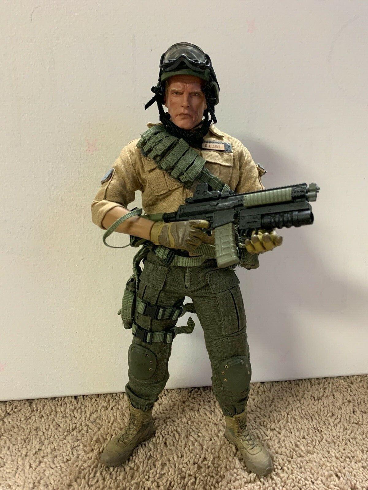 Custom Sideshow Sixth Scale Duke First Sgt 1/6 Gi Joe new body on eBay thumbnail