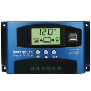 100A-MPPT-Solar-Panel-Regulator-Battery-Charger-Controller-12-24V-With-LCD-USB