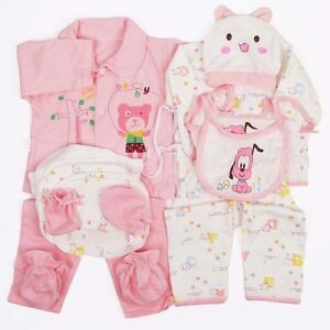 18pcs newborn baby clothes girls boys clothing set cute