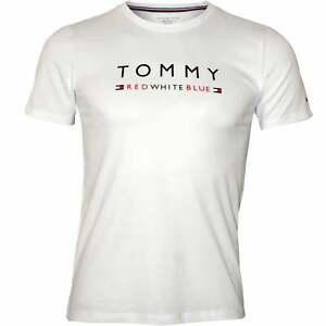 9c055269 Image is loading Tommy-Hilfiger-Logo-Crew-Neck-Boys-T-Shirt-