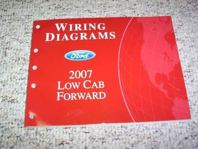 2007 Ford Low Cab Forward Wiring Diagram Manual Lcf Flatbed Box Dump Truck