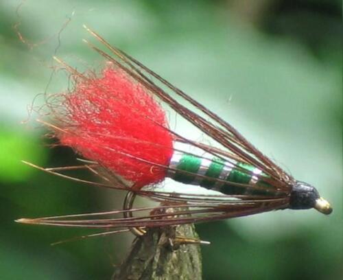 3 Stück von einer Größe. Palaretta Nymphe Gilchrist Fliegen Fliegenfischen