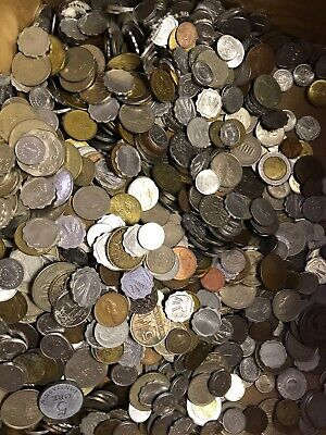 Unsearched lot of nice mix of World Foreign Coin Over 2.5 LB /& gift always added