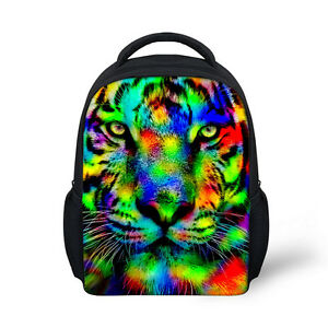 Cool 12 inch Boy's Animal Tiger Backpack Children Small Schoolbag Day Pack Girls