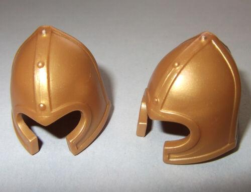 mit Wangenschutz Beckenhaube gold 13022 2x Helm