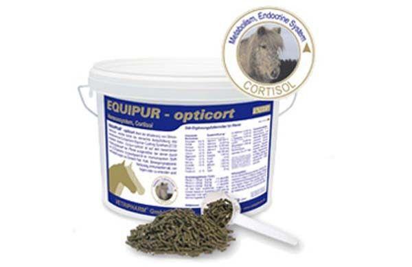 "Equipur opticort ""P"" 3kg Cushing Vetripharm ECS Stress ( /1kg)"