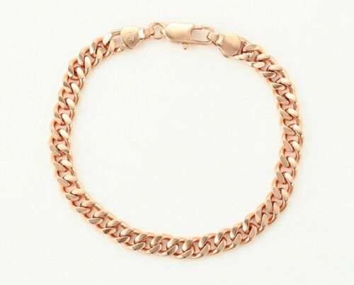 SALE 9K Gold Filled Boy Girl Kid Ladies 4mm Curb Link Bracelet Brithday Xmas ////