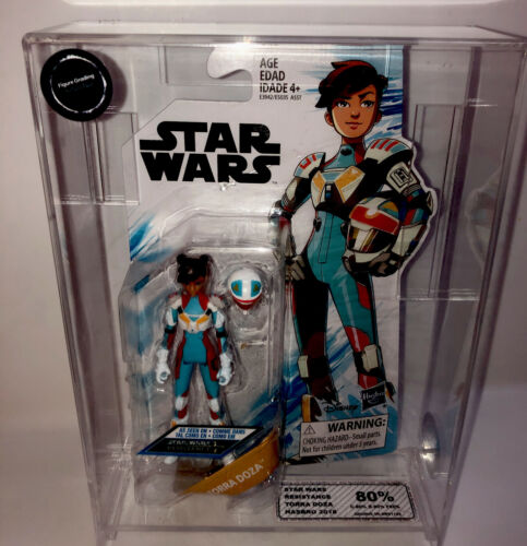 Star Wars Hasbro Résistance Torra Doza classés MOC UKG AFA FG Action Figure