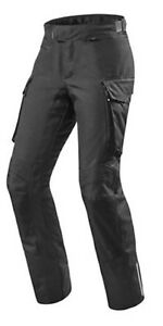 Pantaloni-rev-039-it-Outback-nero-accorciato-taglia-L