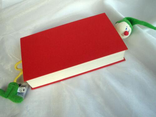 *FÜRNIS*Lesezeichen*Bookmarks*lustige Stoff Zwerge*orange*blau*rot*grün*gelb*