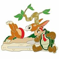 110th Legacy Disney Pin Tortoise & Hare LE 250 Limited Edition Slider Free Ship