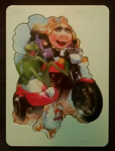 Vintage-1981-Kermit-the-Frog-Miss-Piggy-wooden-puzzle-Fisher-Price-546-Sidekick