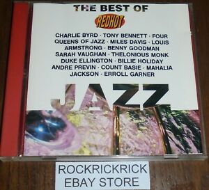 RED-HOT-JAZZ-THE-BEST-OF-JAZZ-VARIOUS-ARTISTS-14-TRACK-CD-COLUMBIA-471446-2