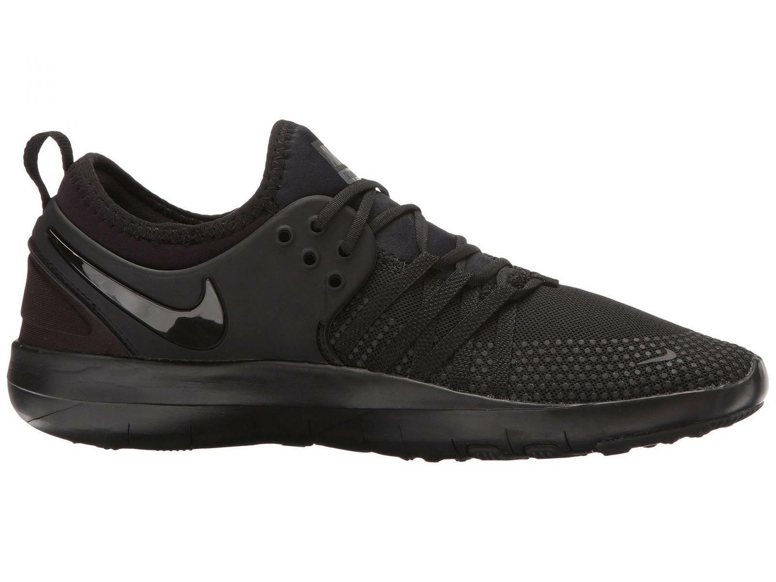 Mujeres Nike Free Tr 7 Fitness Training Zapatillas Negro 904651 003