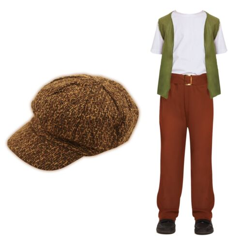Children/'s Victorian evacuee Oliver Mary Poppins Book Week Fancy Dress Costume