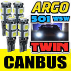 4x 9smd W16W Luz de marcha atrás LED W5W blanca Xenón Sin Errores AUDI A5
