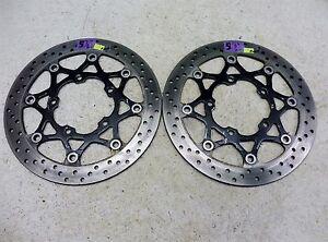 Details about 2006 Suzuki GSXR 600 GSX-R S678  front brake rotors discs  left right
