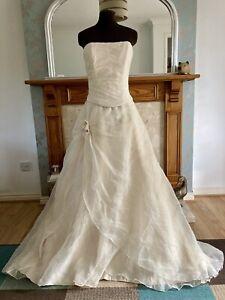 Maggie-Sottero-Champagne-Wedding-Dress-Size-14