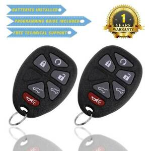 2-For-Chevy-Tahoe-2007-2008-2009-2010-2011-2012-2013-Remote-Key-Fob-for-OUC60270