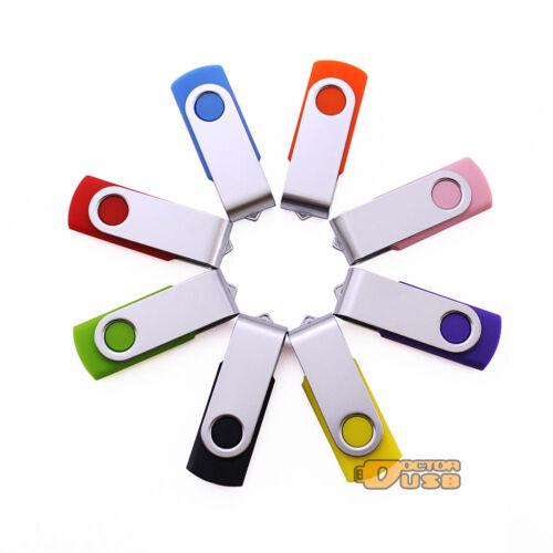 20 Pack 64 128 256 512 MB 1 2 4 8 16 GB USB Flash Pen Drive Thumb Stick