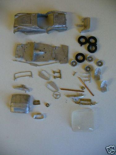 Triumph TR2  1 43rd scale white metal kit  by K & R Replicas