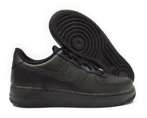 315122-001 Nike Air Force 1 '07 (Black / Black) Men Sneakers