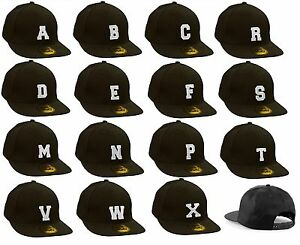 Casual-Baseball-Cap-Caps-adjustable-Snapback-letter-A-Z-Alphabet