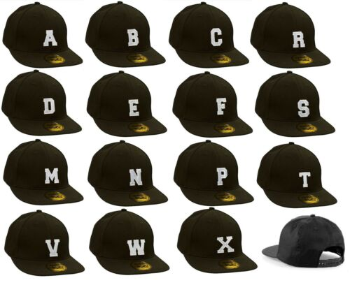 Youth Kids Size Snap back Flat Peak Hat Boy Girl Casual Baseball Cap Alphabet